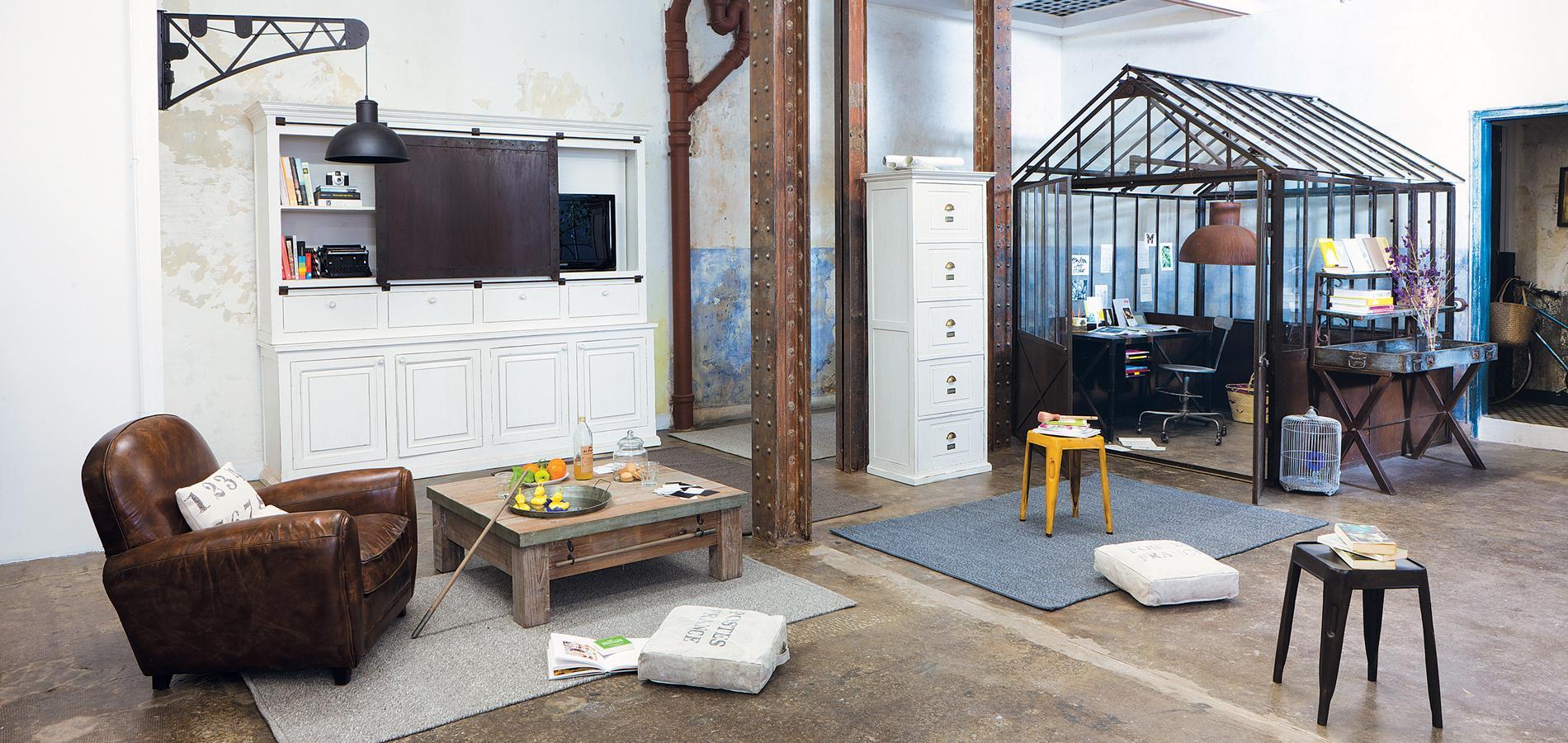 comment am nager un loft tout en gardant de l intimit. Black Bedroom Furniture Sets. Home Design Ideas