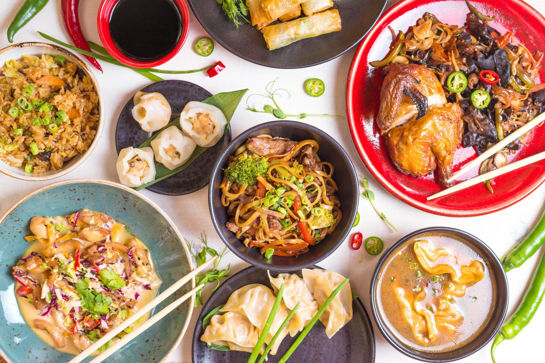Restaurant Vegan Asiatique
