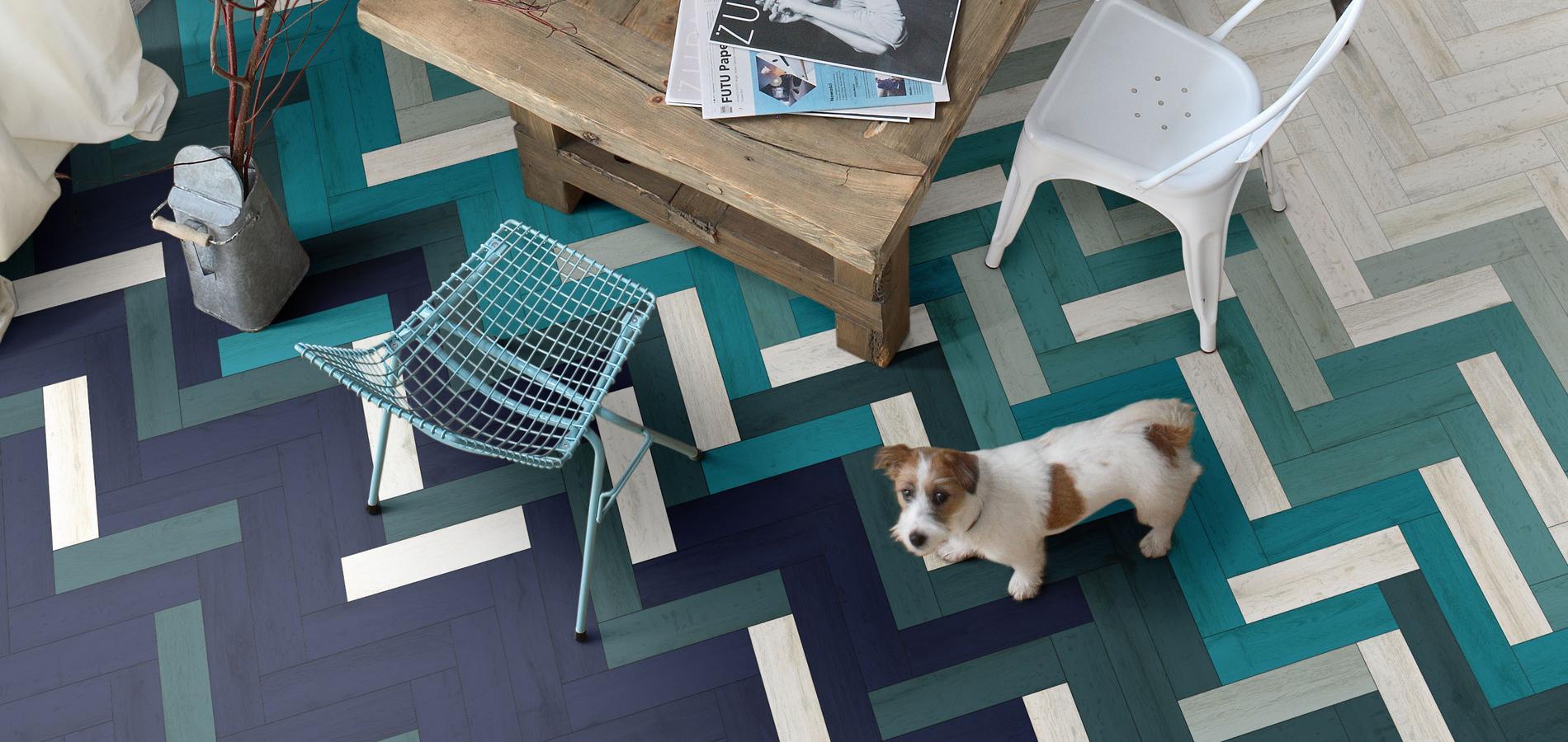 carrelage d coratif l 39 atout charme de la maison madame figaro. Black Bedroom Furniture Sets. Home Design Ideas