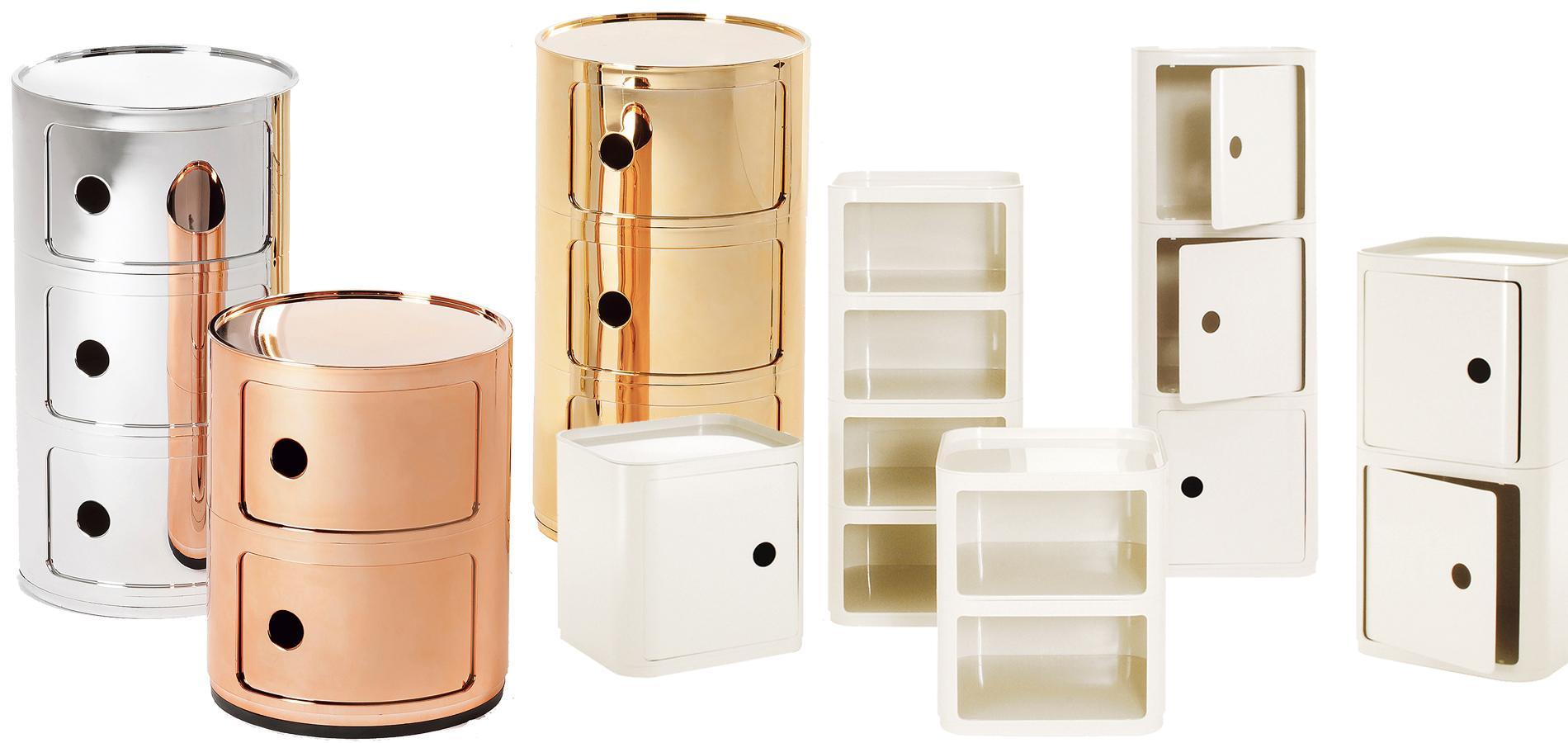 Componibili de kartell meubles stars du modulable for Meuble kartell