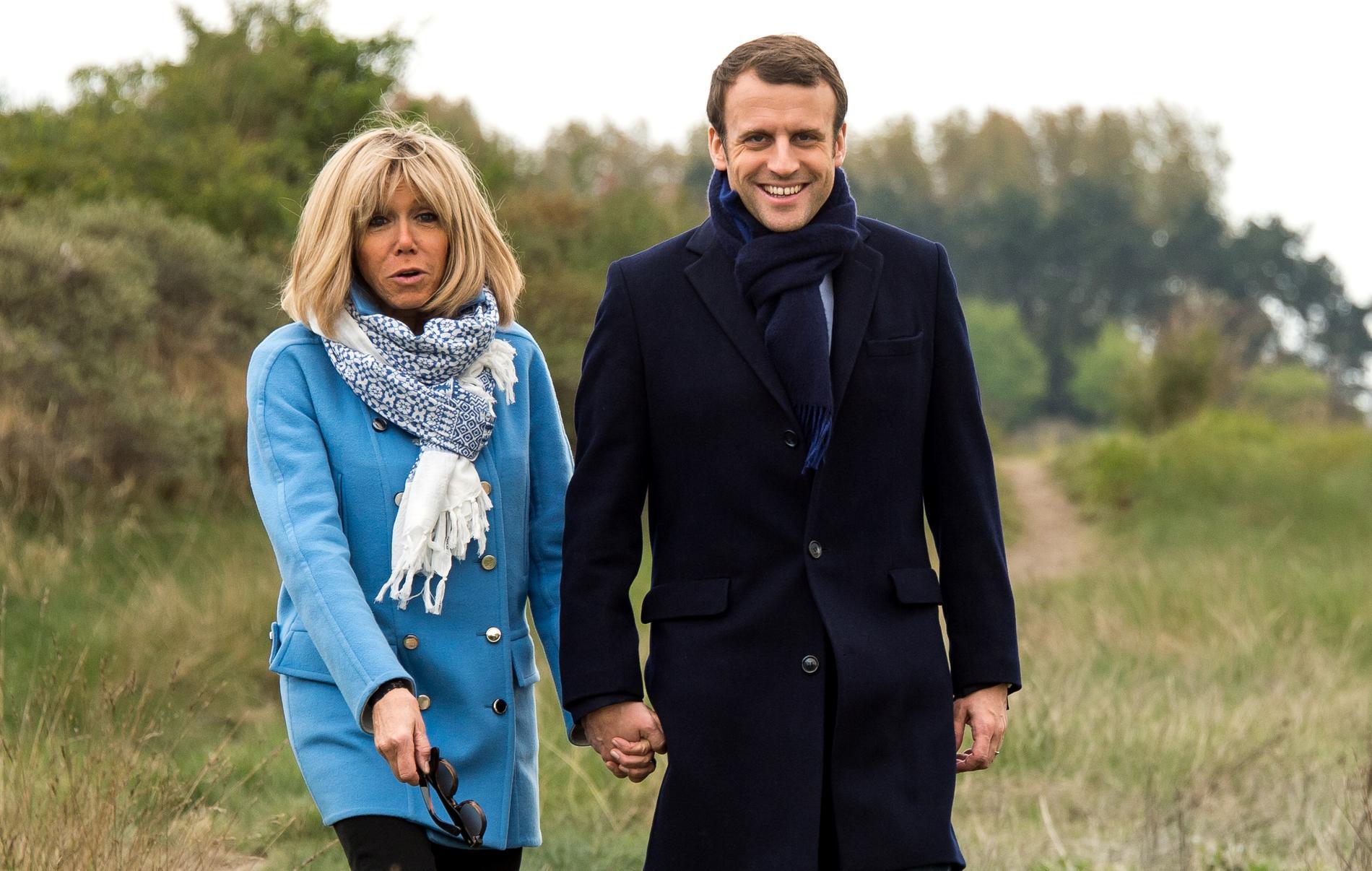 France : Emmanuel et Brigitte Macron se sont dit ''oui'' pour la dixième fois