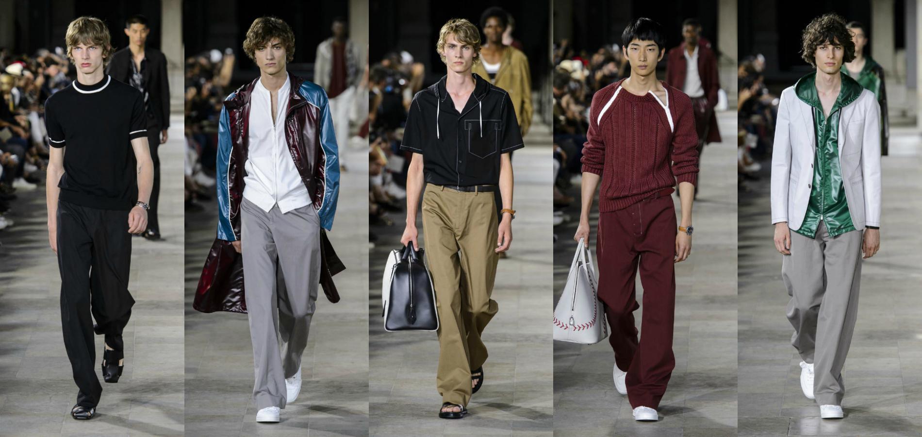 Défile Hermès, Fashion Week Printemps été 2018 de Paris. 0788b0c7b18