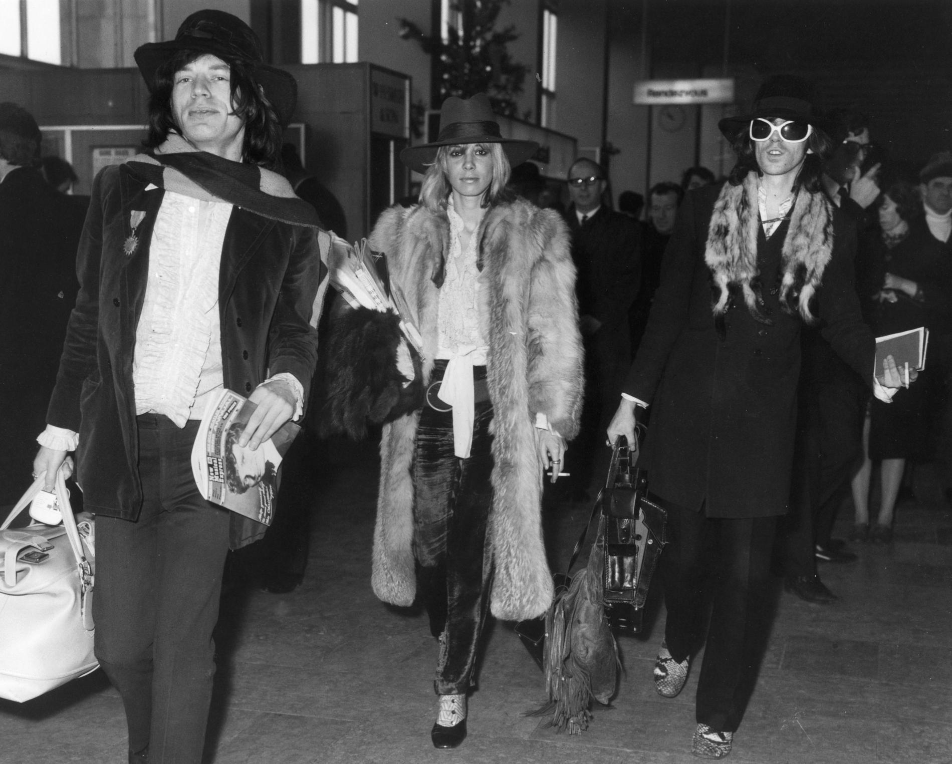 Mick Jagger 1980 Anita Pallenberg, ses ...