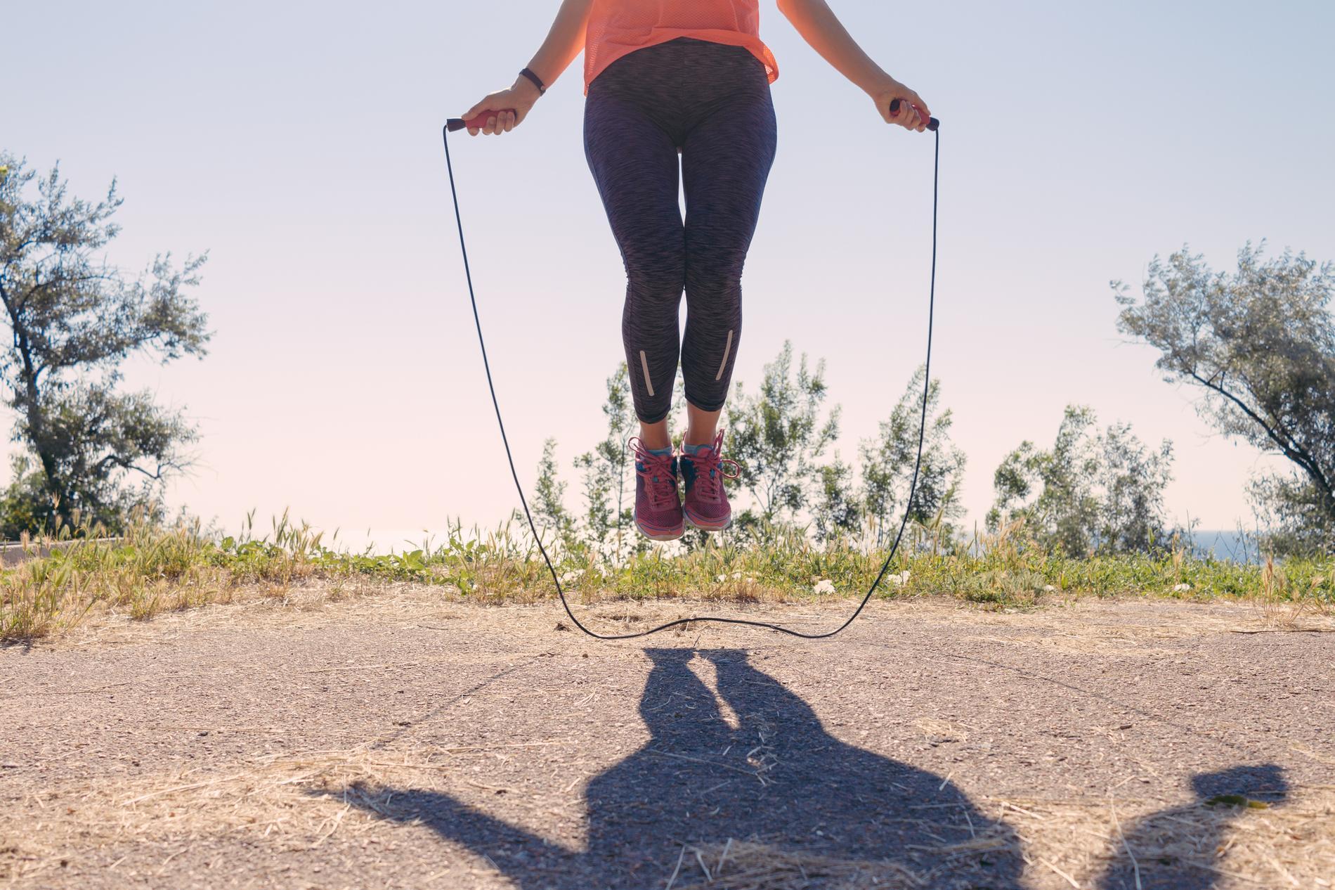 les bienfaits de la corde a sauter