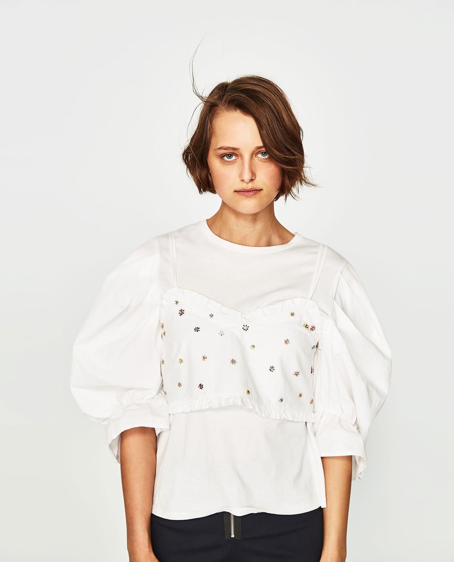 c07fb4ac8c2 Robe portefeuille blanche zara – Modèles populaires de robes