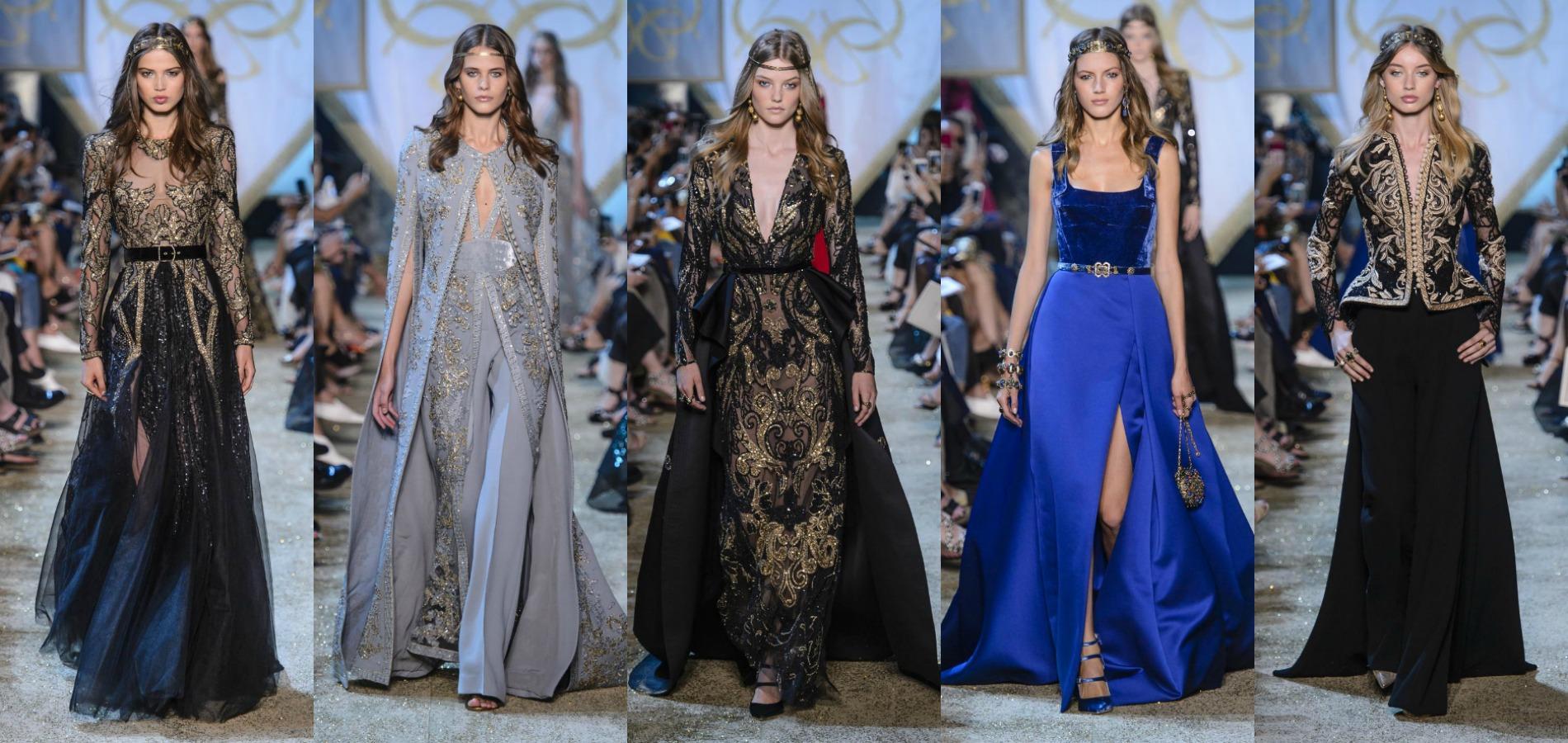 84dc05f6166cef Défilé Elie Saab, Fashion week haute couture Automne-hiver 2017-2018 de  Paris.