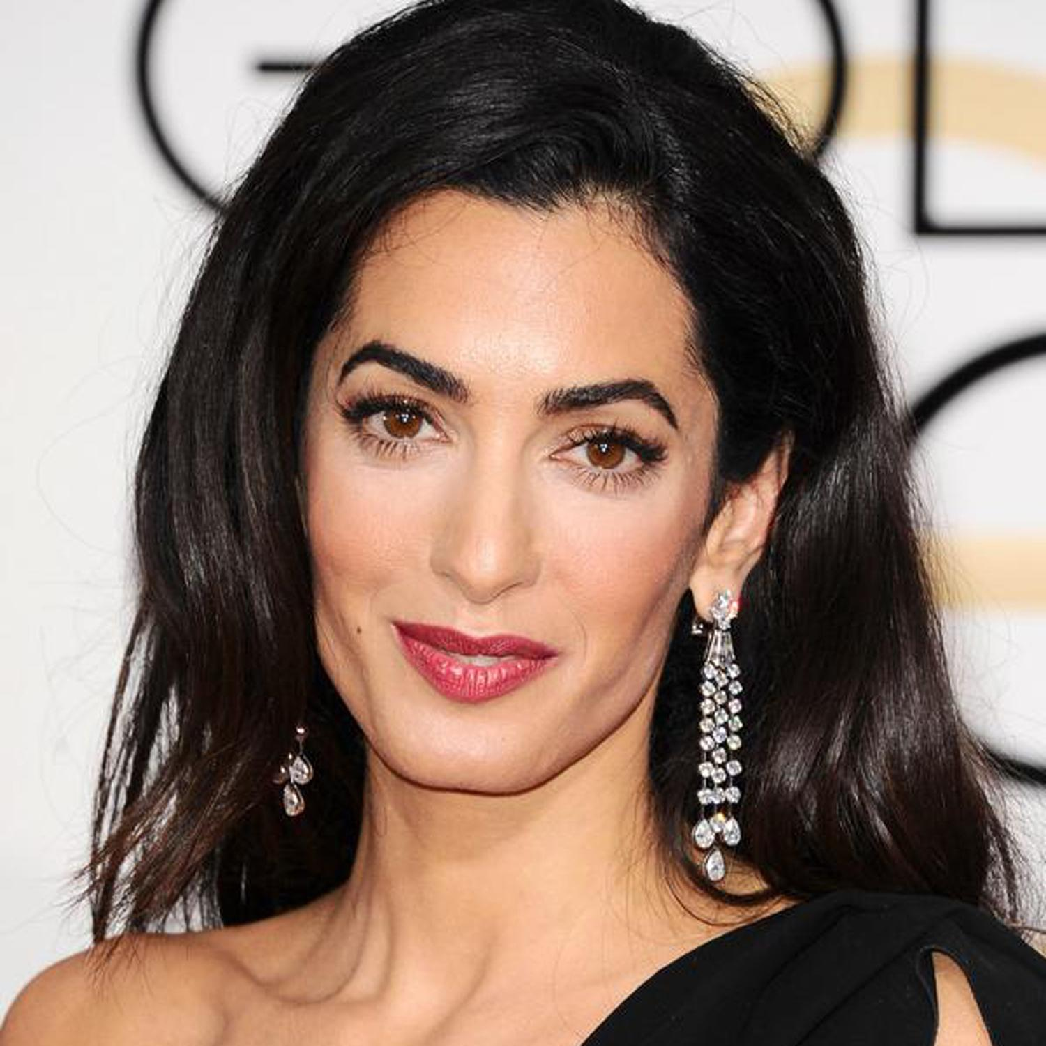The gallery for --> Amal Alamuddin People Magazine