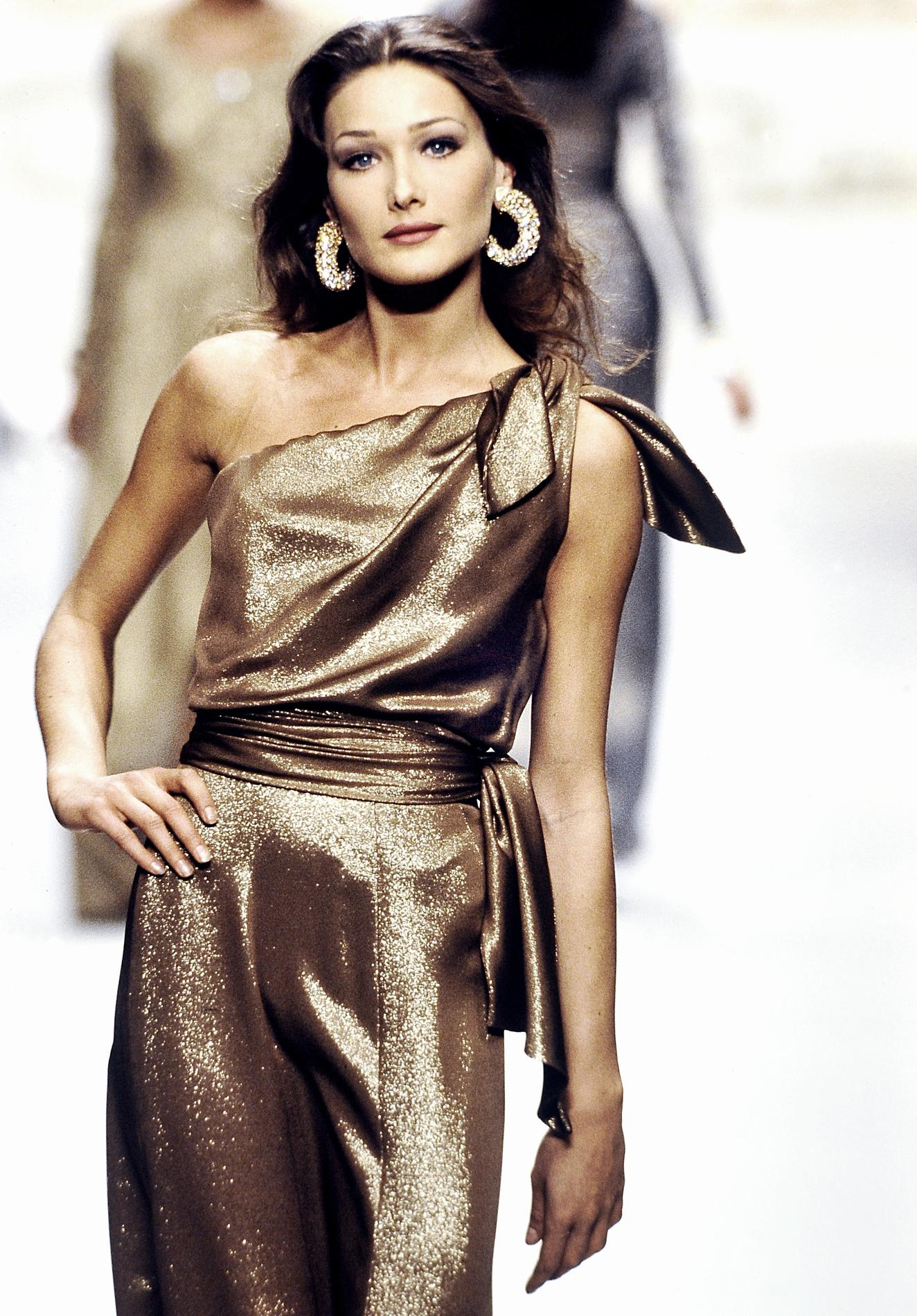 f87d1cce4004 ... une carrière de supermodel - ambiance disco ...