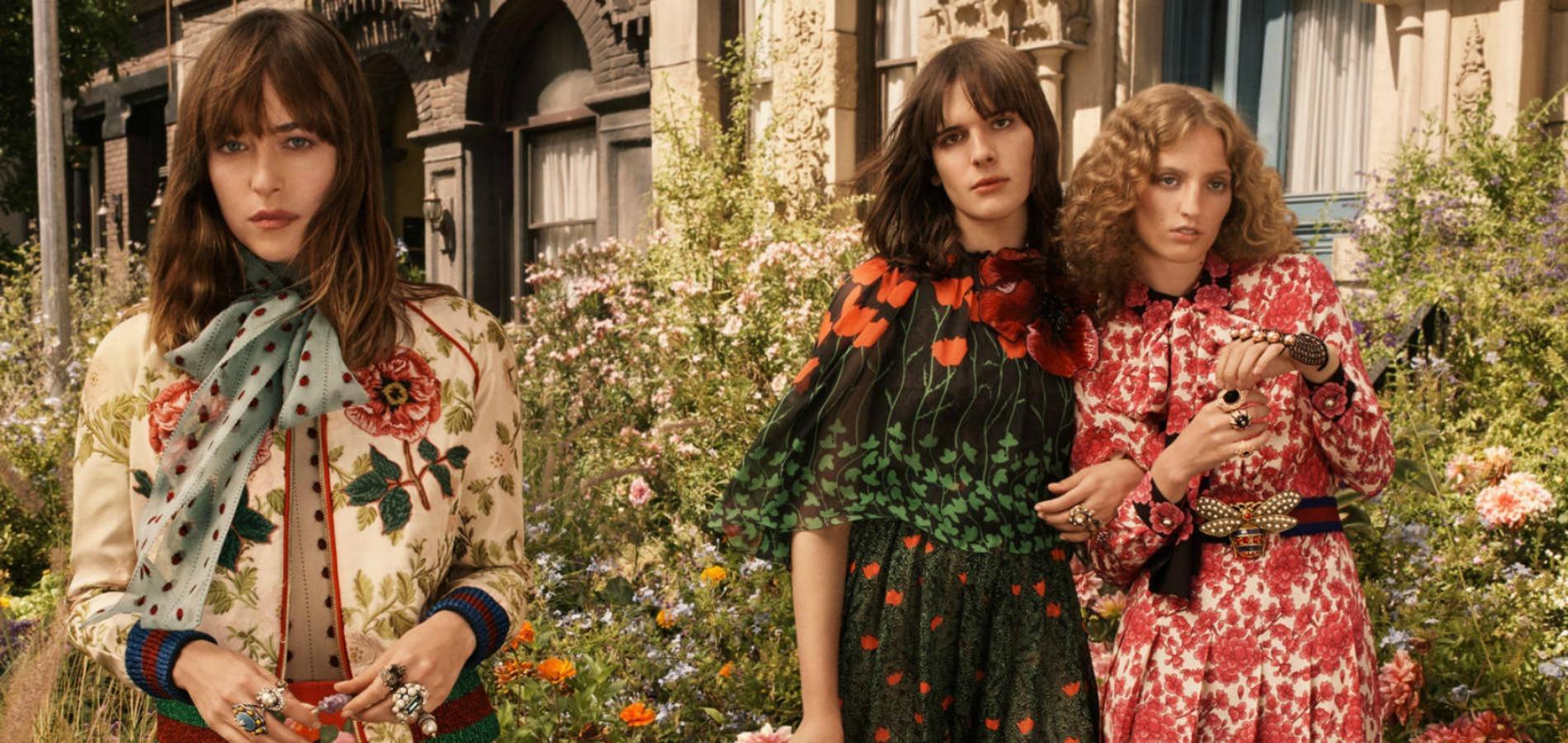 2fd3c6282d00 Dakota Johnson et Alessandro Michele présentent le nouveau parfum Gucci
