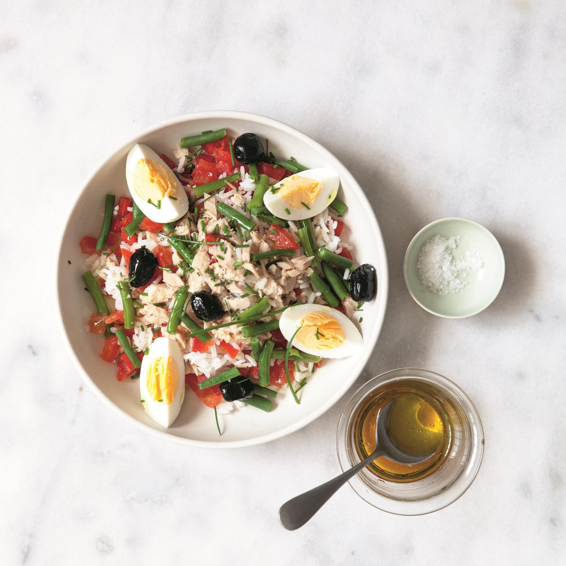 salade repas nicoise copieuse