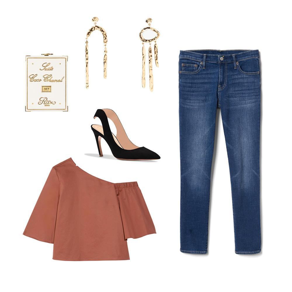 361236aa33c0d Madame Figaro Trois jeans, neuf possibilités - Jean Gap, look soirée ...
