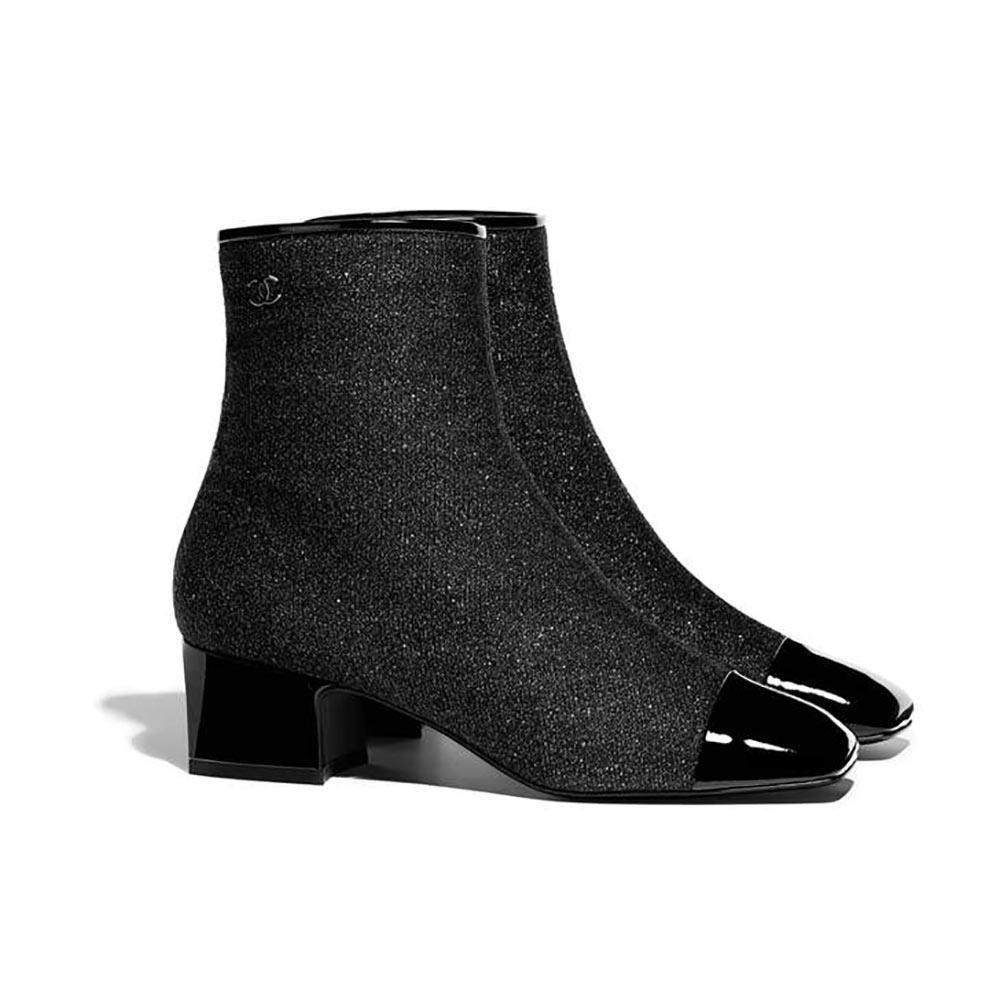32edb9c34adf ... Les 21 paires de bottines-chaussettes qui nous donnent envie cet hiver  - Chanel