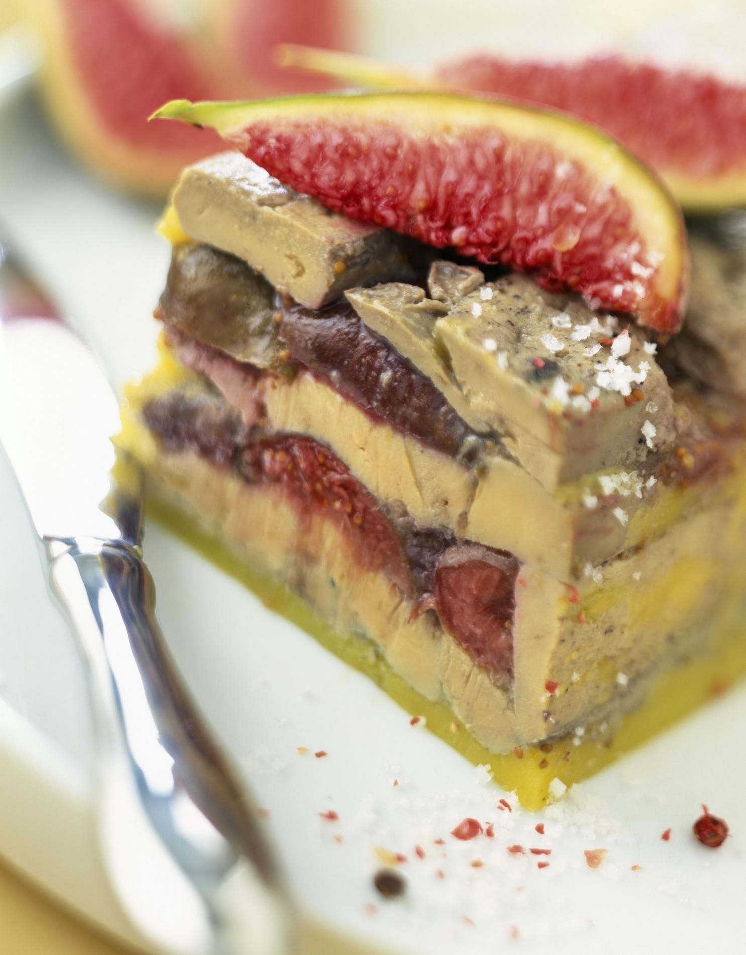 recette terrine de foie gras aux figues cuisine madame figaro. Black Bedroom Furniture Sets. Home Design Ideas