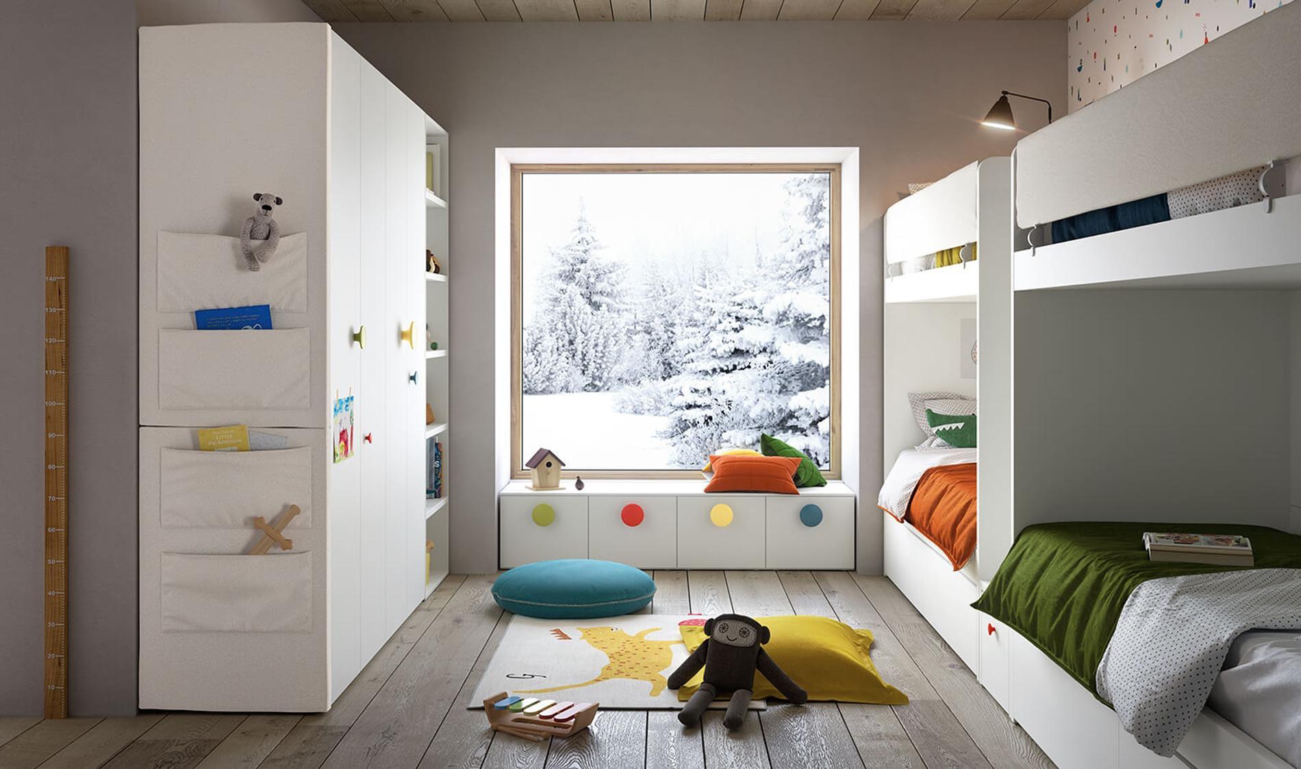 chambre partag e une d co sans clich pour une fratrie. Black Bedroom Furniture Sets. Home Design Ideas