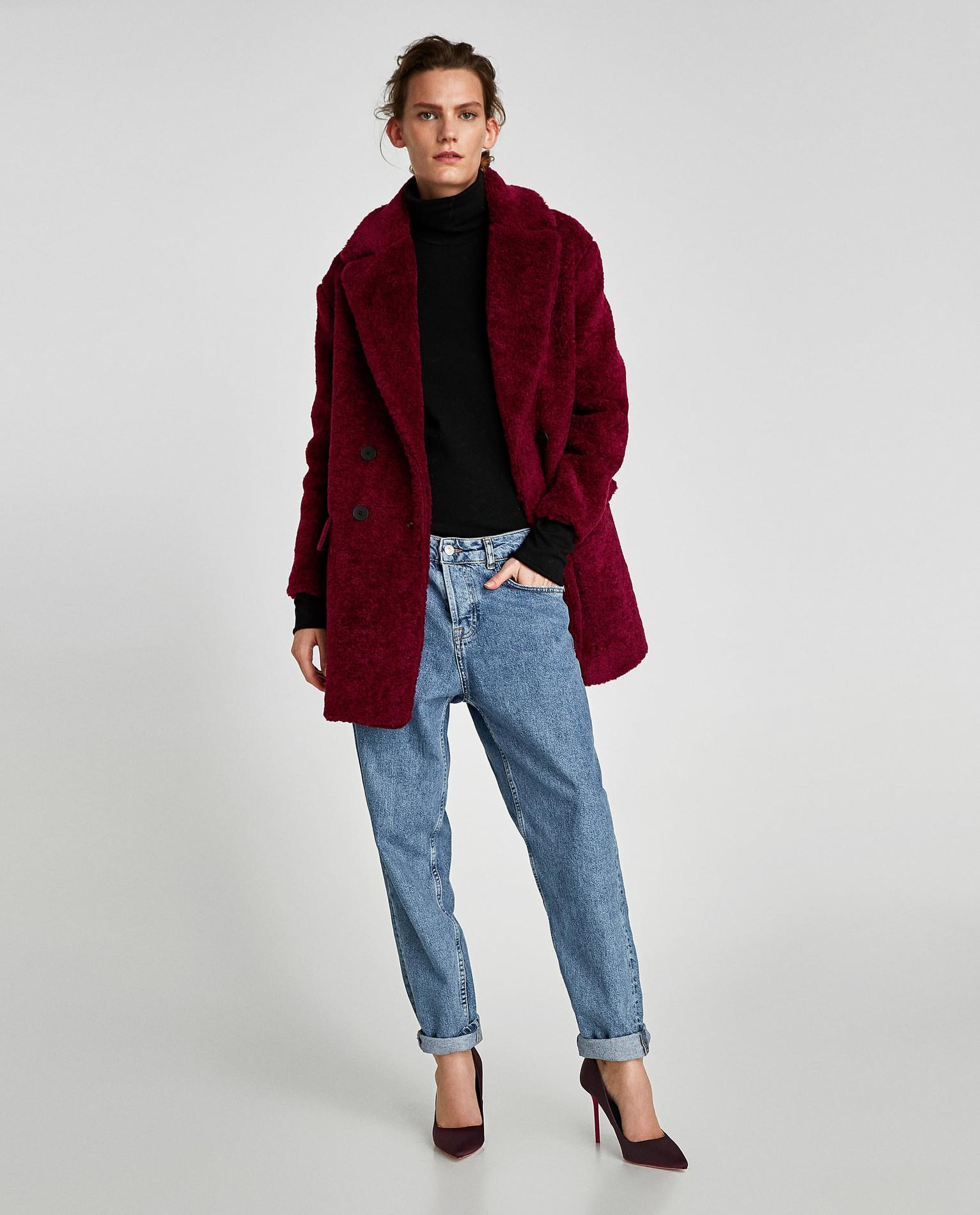 ... on se love dans des manteaux en fausse fourrure colorée - Diane von  Furstenberg Cet hiver, on se love dans des manteaux en fausse fourrure  colorée ... 5344c9ba8d79
