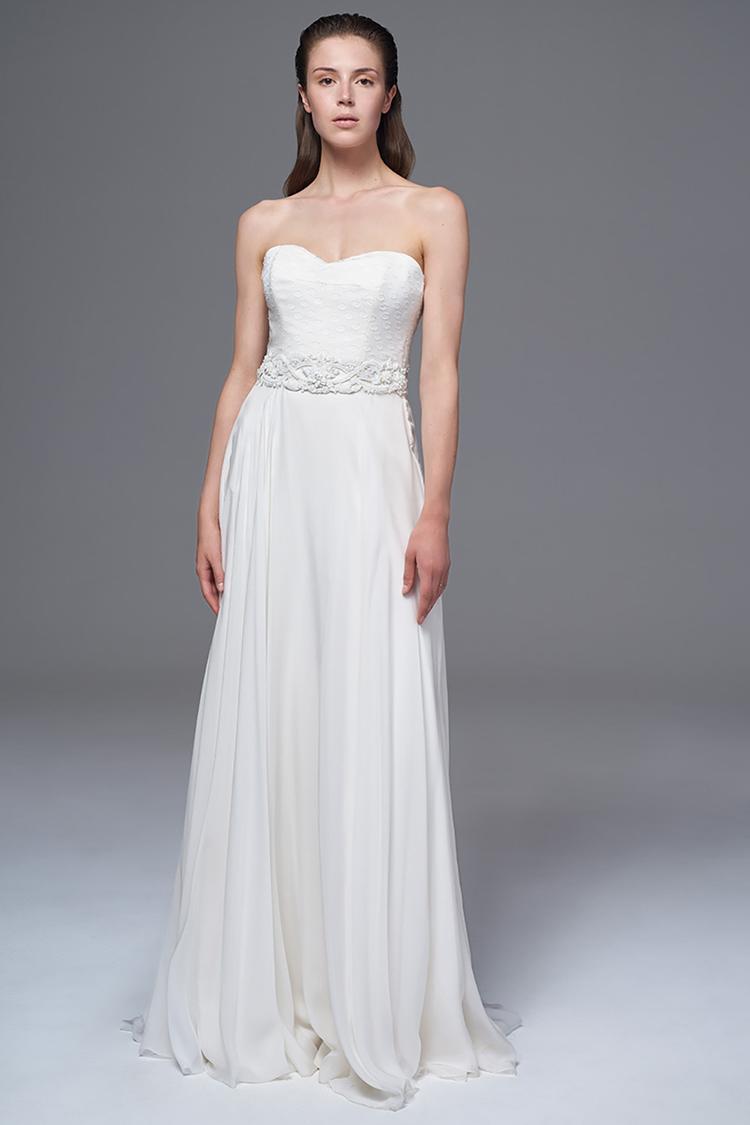 Carolina Herrera Quelle robe de mariée choisir lorsque l on a une forte  poitrine   - Lihi Hod Quelle robe de mariée choisir lorsque l on a une forte  ... ed365570b77