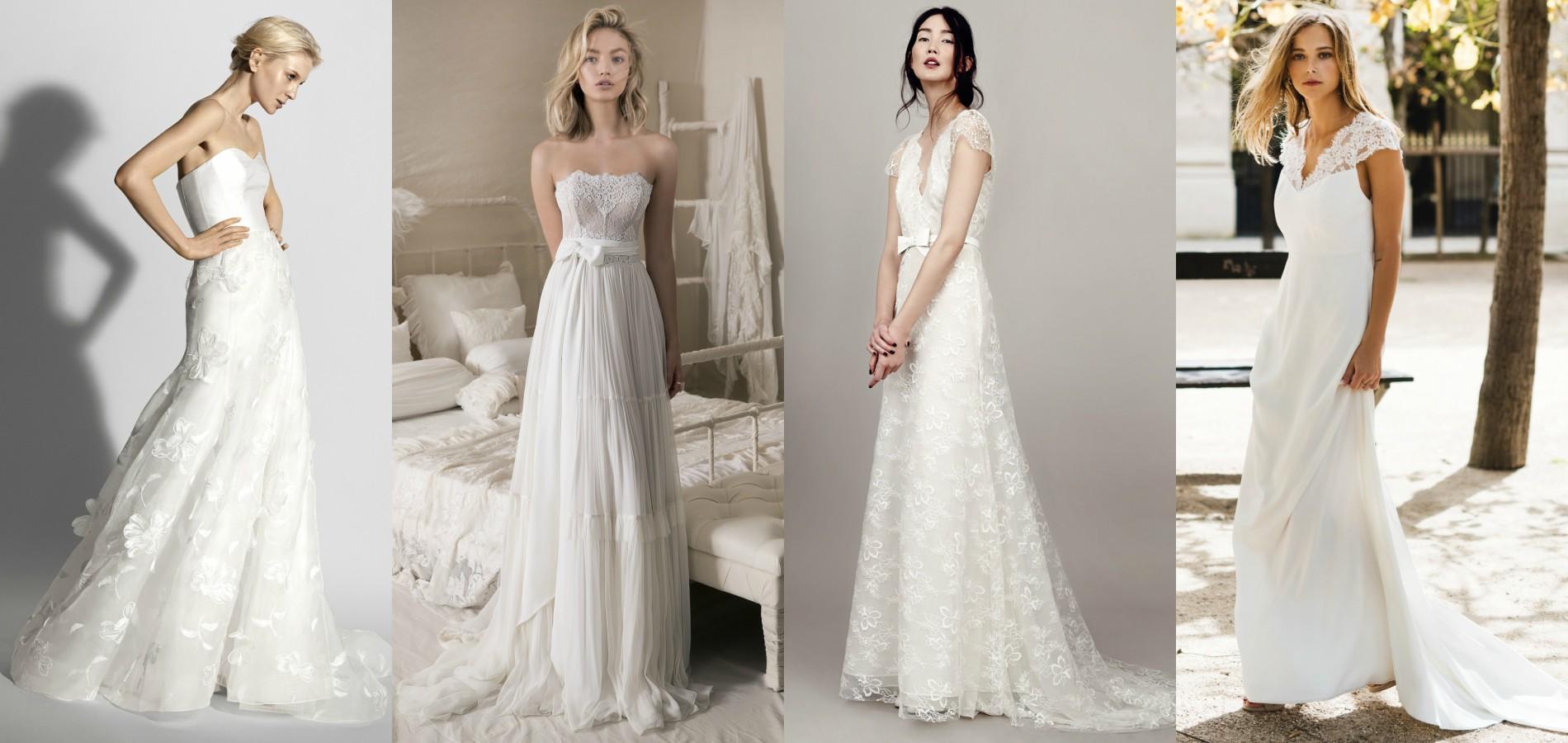 Quelle robe de mariée choisir lorsque l on a une forte poitrine   Photos  presse Carolina Herrera 04f978895c1