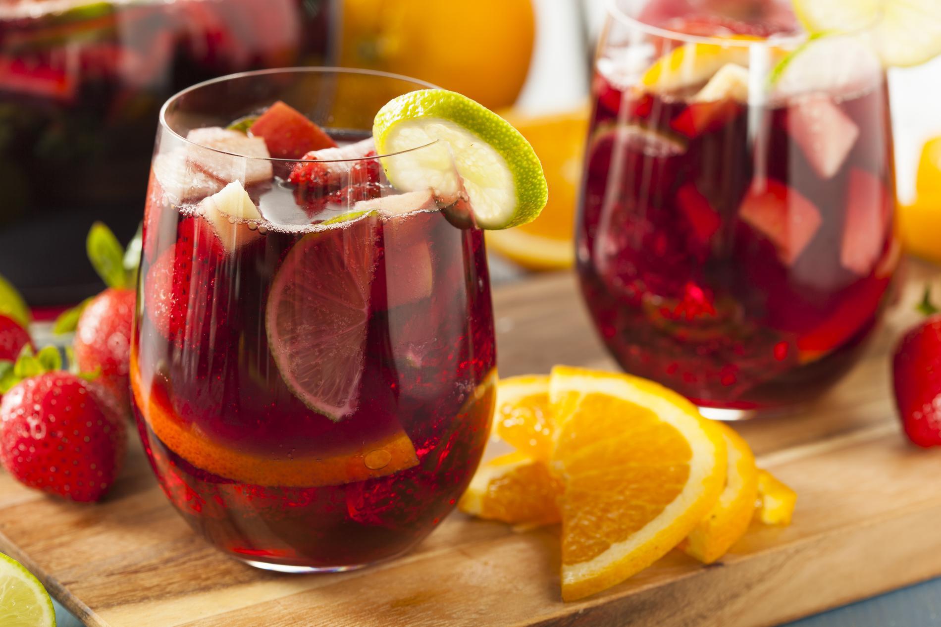 Recette La Sangria Aux Fruits Rouges Sans Alcool Cuisine Madame