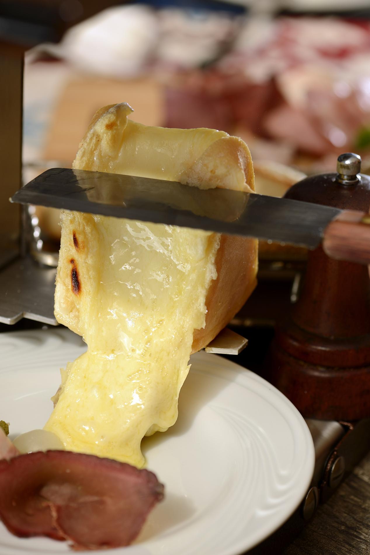 entrée avant raclette