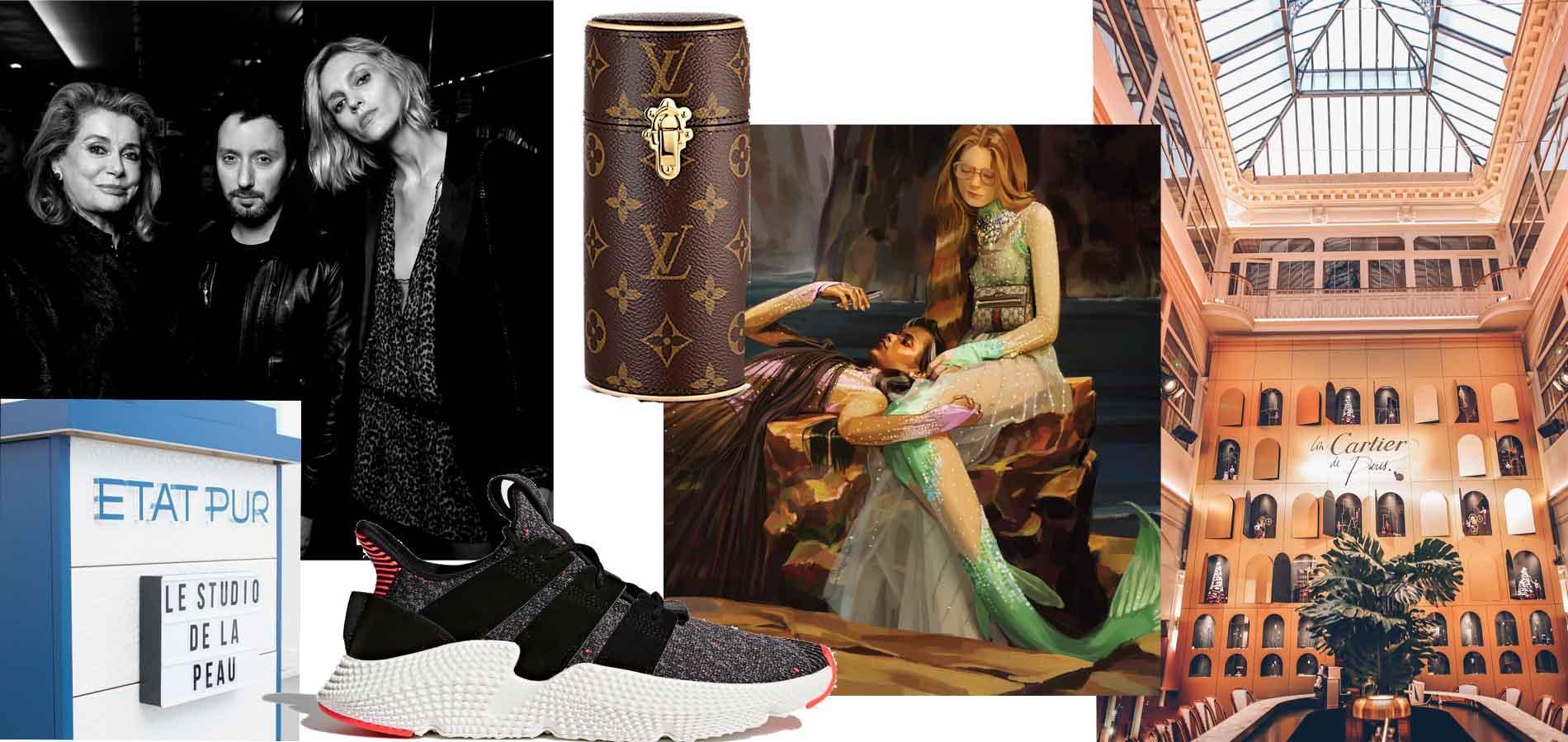 Boutique Cartier féérique, soirée Saint Laurent x Colette, campagne Gucci...  Nos indispensables mode et beauté 63aee03e07f