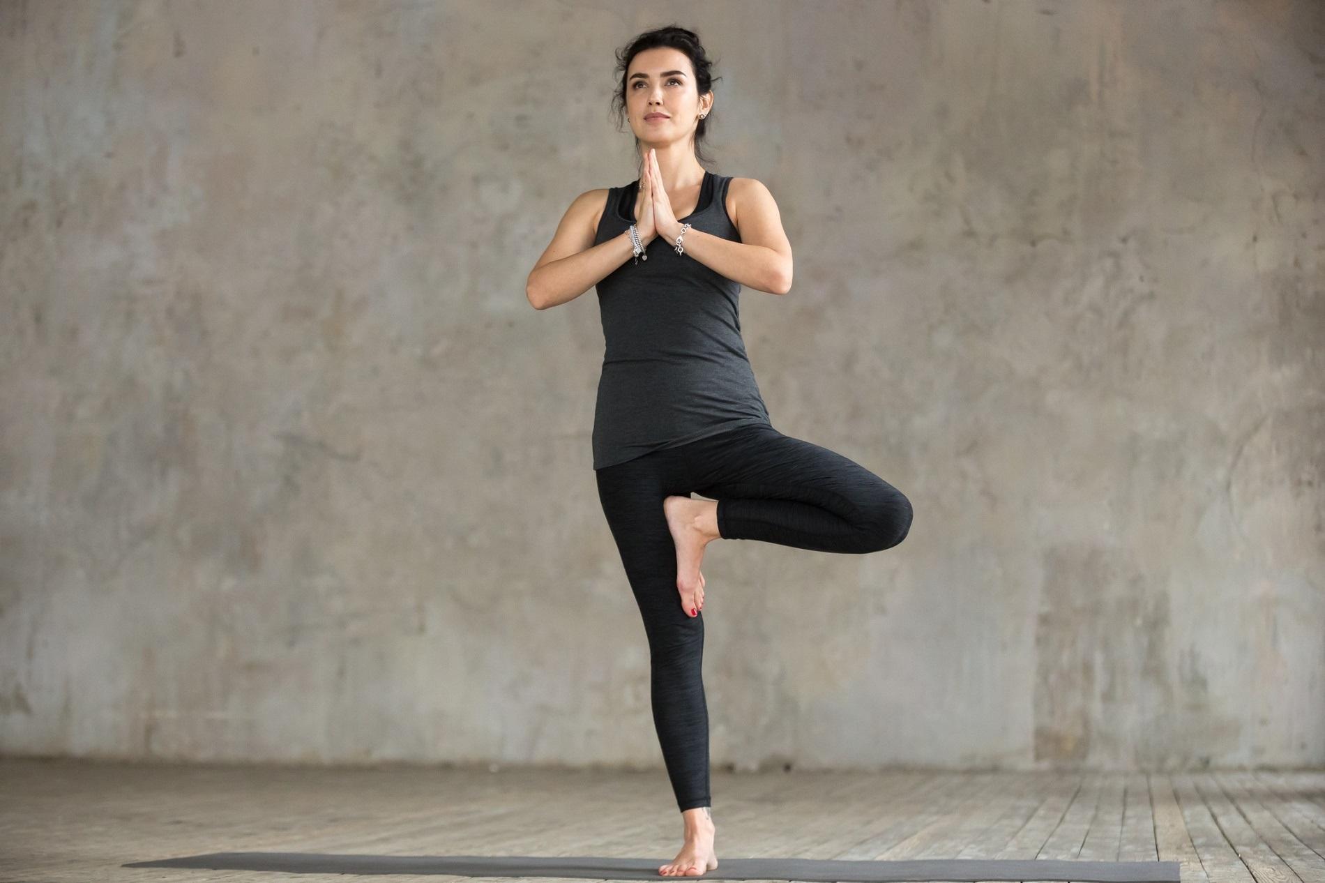 posture yoga endormissement