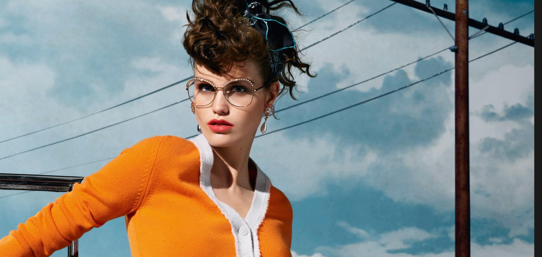 Il est venu le temps des lunettes de vue originales - Madame Figaro 93ad3ae27bce