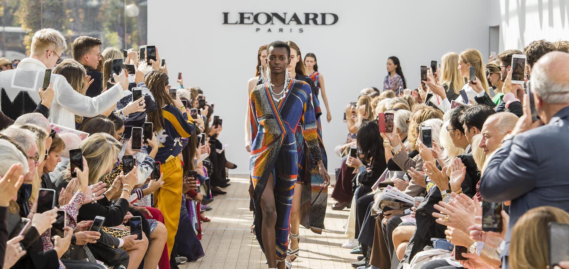 ce4c4557c823 Défilé Léonard Paris printemps-été 2019 Prêt-à-porter - Madame Figaro