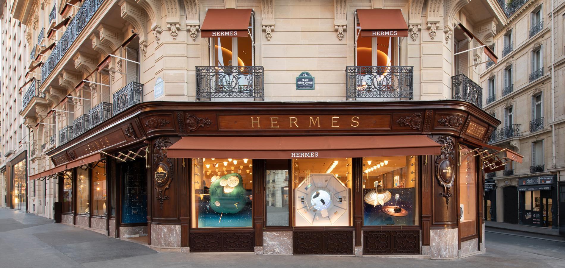 800b4ec8baec Hermès avenue George-V ou l art d être à rebours et dans son temps ...