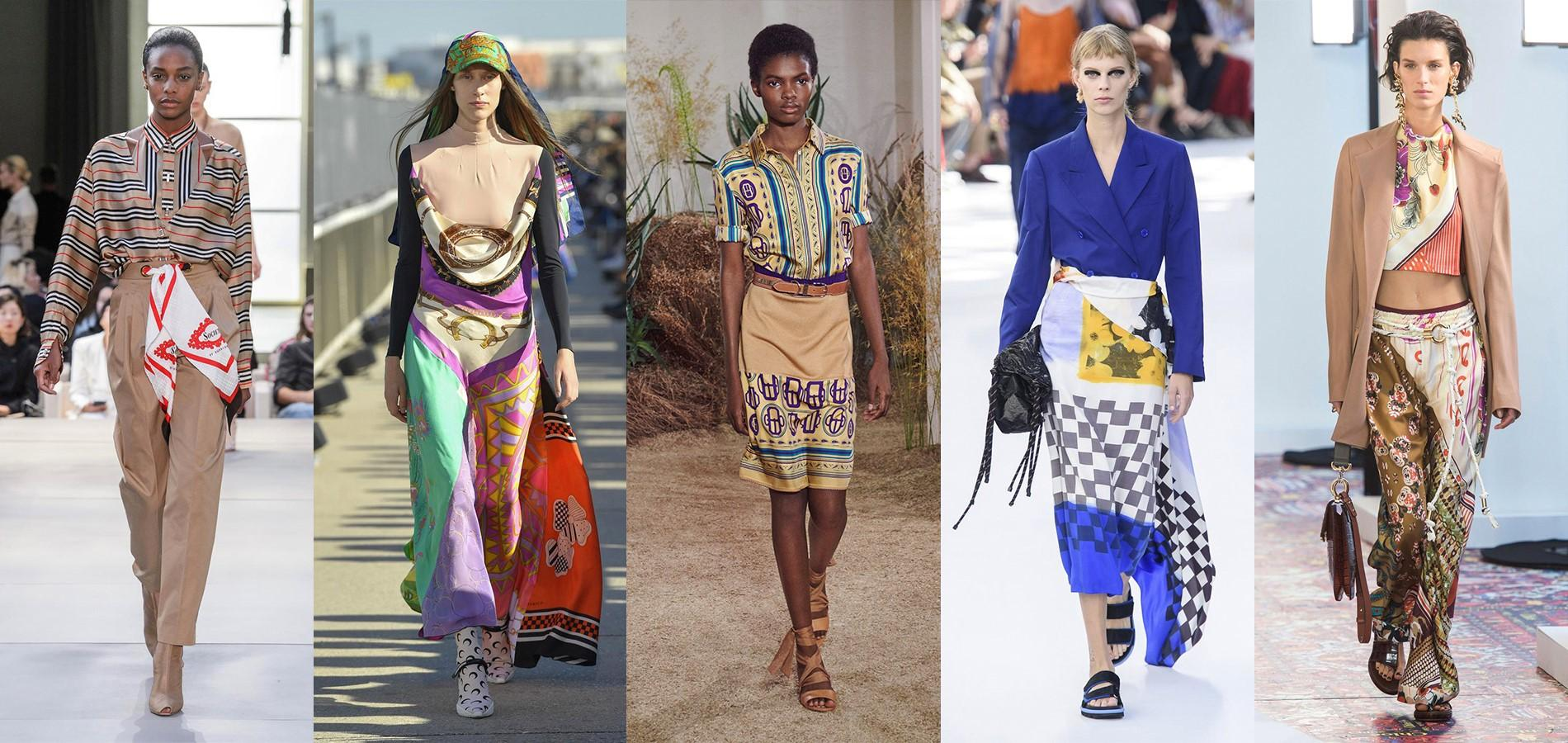 c6234bb543a2 Le foulard fait son come-back chez les millenials - Madame Figaro