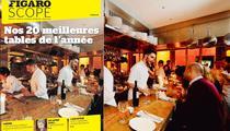 Notre palmarès des meilleurs restaurants de l'année à Paris: nos César gastronomiques!