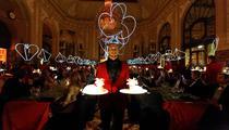 Un dîner «surréaliste» pour 72 privilégiés au Meurice