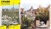 Les plus belles chambres avec vue sur les monuments de Paris: chambre noire… pour Ville Lumière