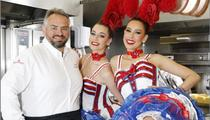 130 ans du Moulin Rouge: le spectacle est aussi dans l'assiette
