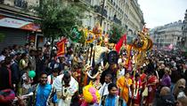 À Paris ce week-end: rock anglais, fête hindoue, spectacle aquatique