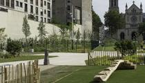 Un nouveau jardin de 5600 m2 à Paris XIe