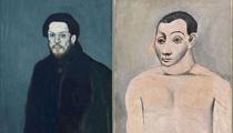 Curieuse nocturne Picasso en bleu et rose au musée d'Orsay