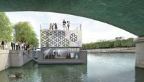 Le premier centre d'art flottant au monde s'installe à Paris