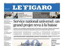 Le Figaro daté du 28 juin 2018