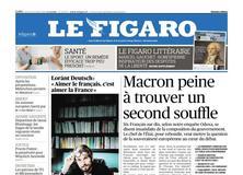 Le Figaro daté du 18 octobre 2018
