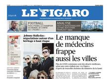 Le Figaro daté du 10 octobre 2018