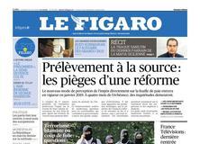 Le Figaro daté du 24 août 2018