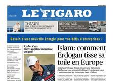 Le Figaro daté du 28 septembre 2018