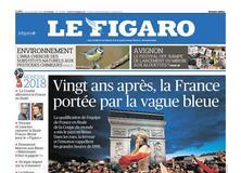 Le Figaro daté du 12 juillet 2018