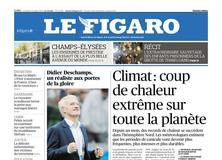 Le Figaro daté du 13 juillet 2018