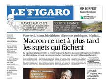 Le Figaro daté du 06 juillet 2018