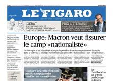 Le Figaro daté du 26 octobre 2018