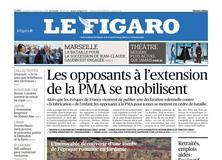 Le Figaro daté du 21 septembre 2018