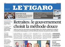 Le Figaro daté du 11 octobre 2018