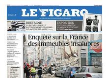 Le Figaro daté du 09 novembre 2018