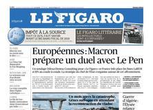 Le Figaro daté du 14 septembre 2018